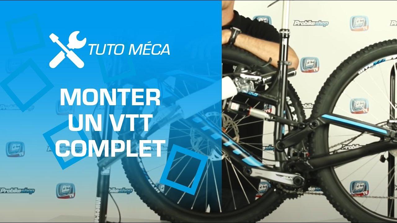 TUTO : montage d'un VTT complet par Probikeshop