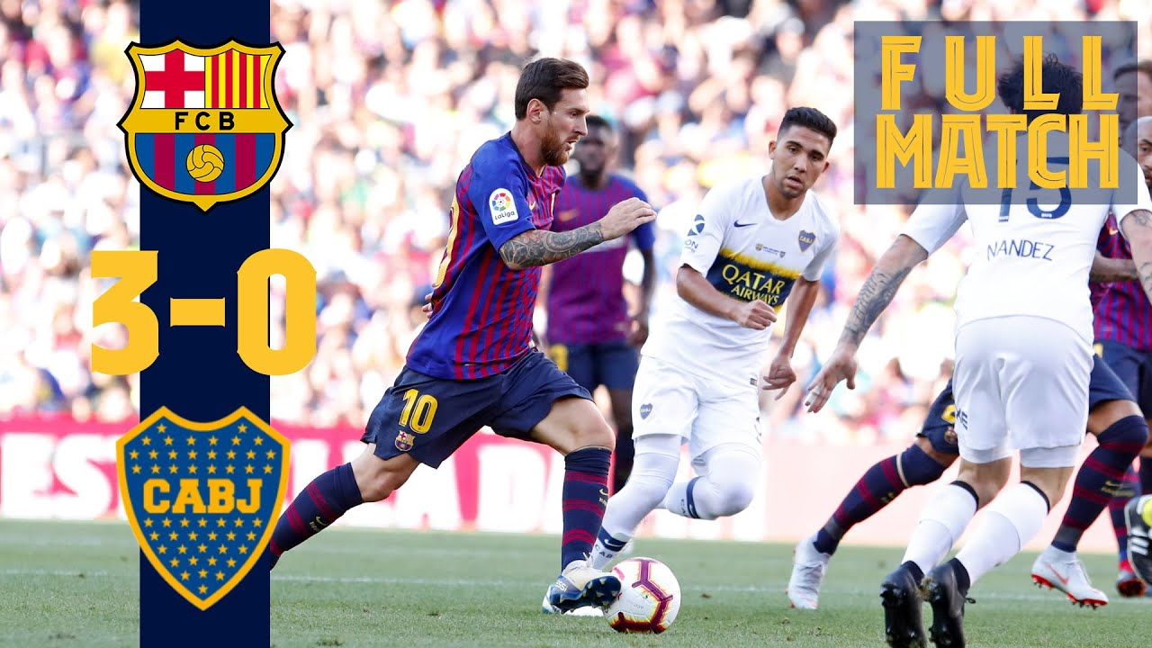 Download FULL MATCH: Barça 3 - 0 Boca Juniors (2018) When Boca came to the Camp Nou!
