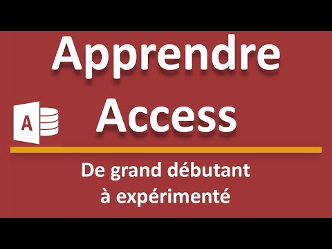 Debuter Avec Access Creer Sa Premiere Base De Donnees Youtube