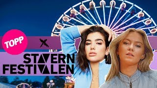 Vlog: Bli med på Stavernfestivalen 2018! | Dua Lipa, Sigrid, Wiz Khalifa