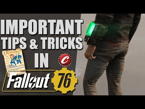Fallout 76 IMPORTANT Tips and Tricks thumbnail