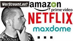NETFLIX, AMAZON & CO. | Streaming Vergleich | Deutsch