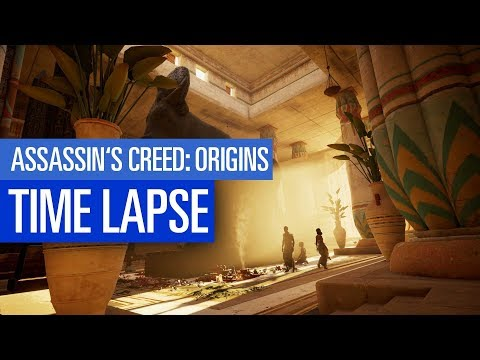 Assassin's Creed Origins: Timelapse zur Spielwelt