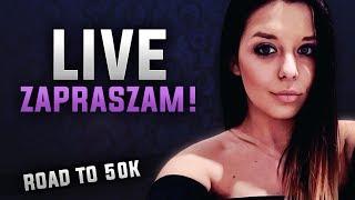 LIVE  FORTNITE  *.*     50k - giveaway KARAMBITA       instagram: angieee__e
