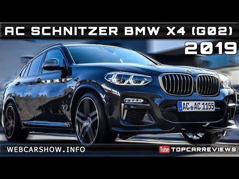 2019 AC SCHNITZER BMW X4 (G02) Review Rendered Price Specs Release Date