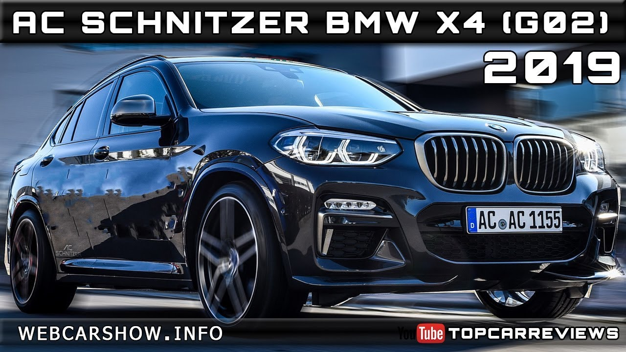 2019 ac schnitzer bmw x4 g02 review rendered price specs. Black Bedroom Furniture Sets. Home Design Ideas