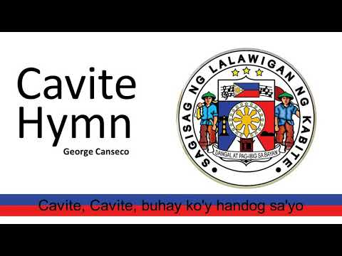 CAVITE HYMN with lyrics