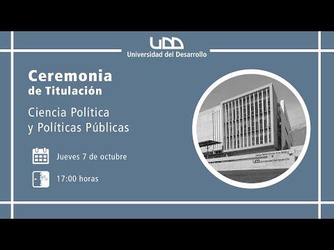 Ceremonia de Titulación | Ciencia Política y Políticas Públicas | Sede Santiago