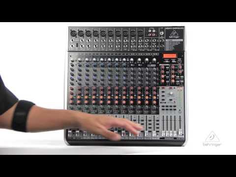XENYX QX2442USB Mixer & USB Audio Interface