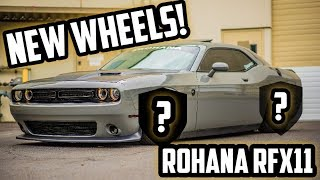CUSTOM ROHANA RFX11 WHEEL REVEAL! INSANE NEW LOOK!