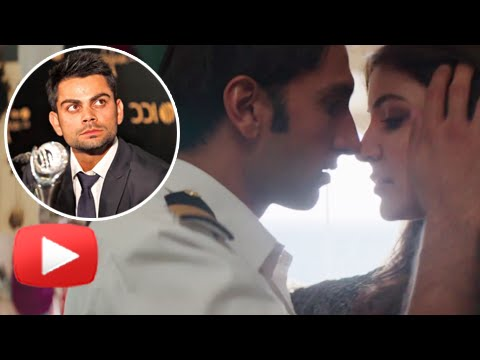 Kiss sharma kohli virat anushka and