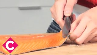 How to skin and debone fish