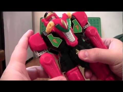 Mighty Morphing Power Rangers Red Dragon Thunder Zord Review