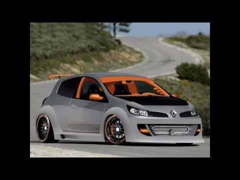 renault clio rs extreme racing virtual tuning video youtube. Black Bedroom Furniture Sets. Home Design Ideas