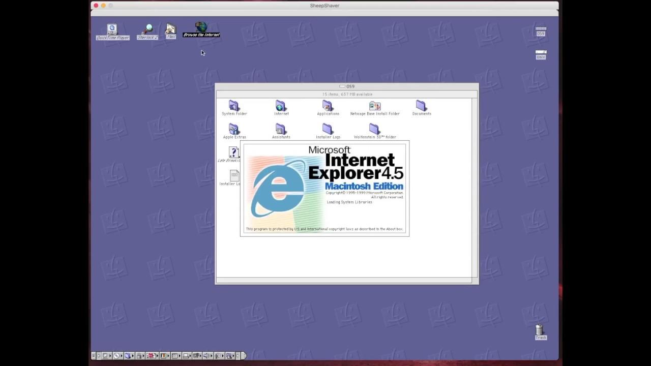 Mac Os 9 Emulator