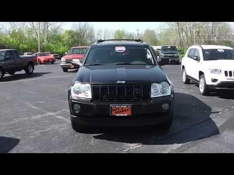 2005 Jeep Grand Cherokee Laredo SUV Black for sale Dayton Troy Piqua Sidney Ohio - CP13413T