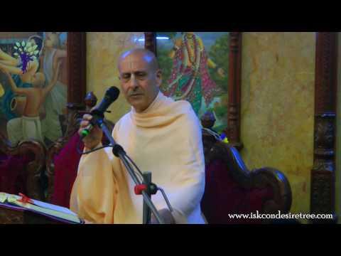 Gaura Purnima Festival Morning Session by HH Radhanath Swami at ISKCON Chowpatty
