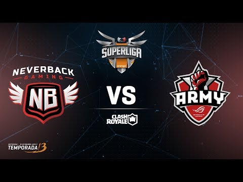 SUPERLIGA ORANGE  - Neverback vs Asus Rog Army- Jornada 3 - #SuperligaOrangeCR3