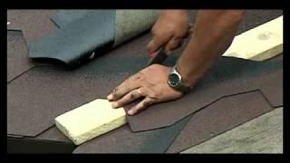видео Гибкая черепица Ruflex - Инструкции по монтажу