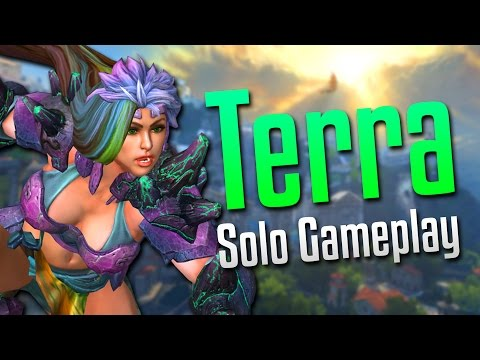 Smite: Earth Clapped!- Terra Solo Gameplay
