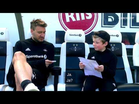 Se hele intervjuet Oliver fra Drømmekampen gjorde med Nicklas Bendtner