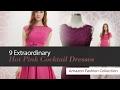Womens hot pink dresses - Pink Women's Dresses