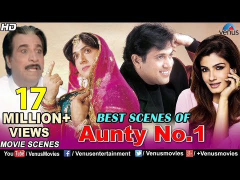 Best Scenes Of Aunty No.1 | Govinda Movies...