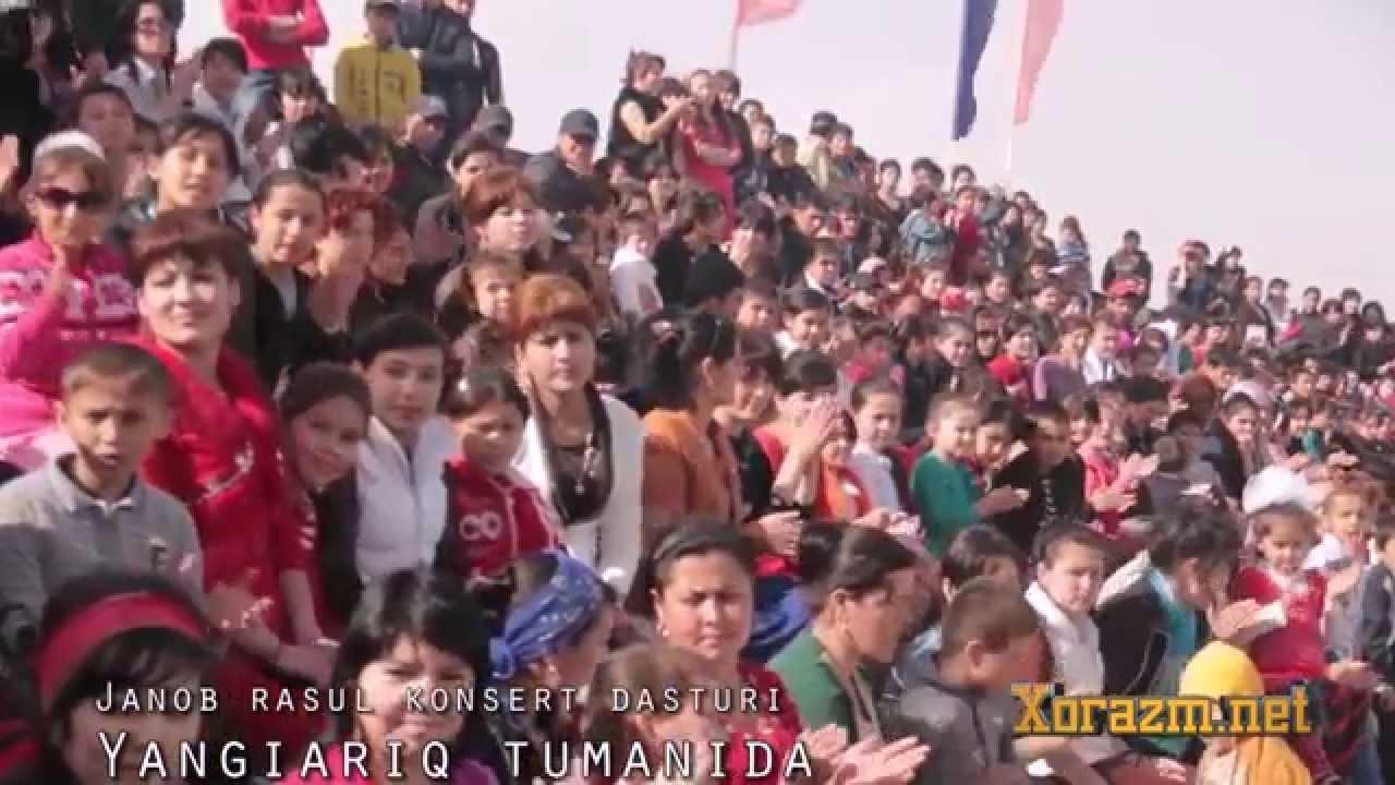 Janob Rasul - Gastrol konsert dasturidan videolavhalar (XIVA va Yangiariq)