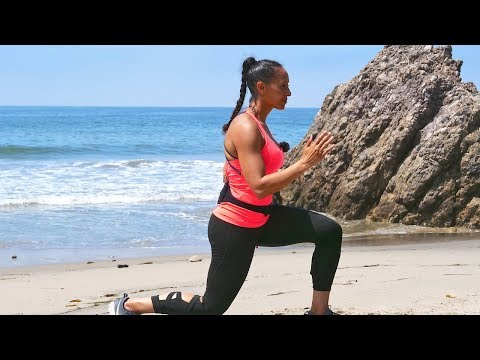 35 Min HIIT with Weights   Full Body   Burn 280 Calories