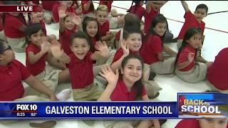 Back to school: Galveston Elementary School