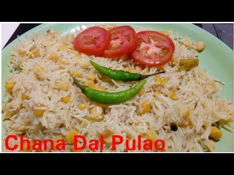 Chana Dal Pulao recipe by Kitchen with Rehana