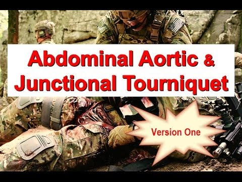 Abdominal Aortic and Junctional Tourniquet-Version One