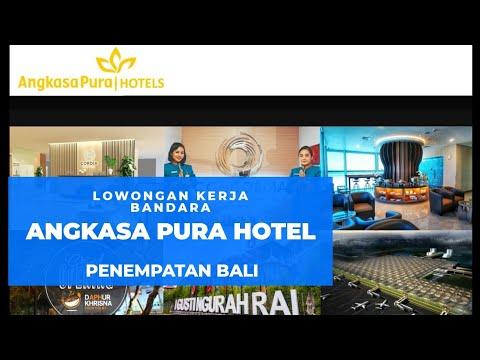 Lowongan Kerja Pt Angkasa Pura Hotel Bandara Internasional I Gusti Ngurah Rai Bali Youtube