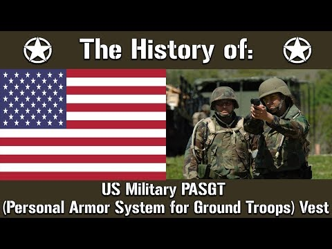 The History Of: The US Military PASGT Kevlar Vest | Uniform History