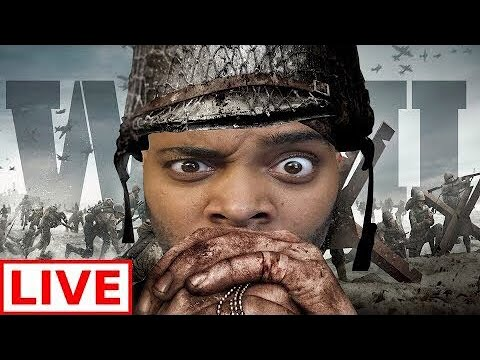 ABSOLUTE RAGE WITH XCHASEMONEY! CALL OF DUTY WW2 LIVE STREAM