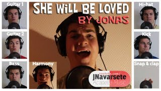 Maroon 5 - She Will Be Loved | Average Jonas