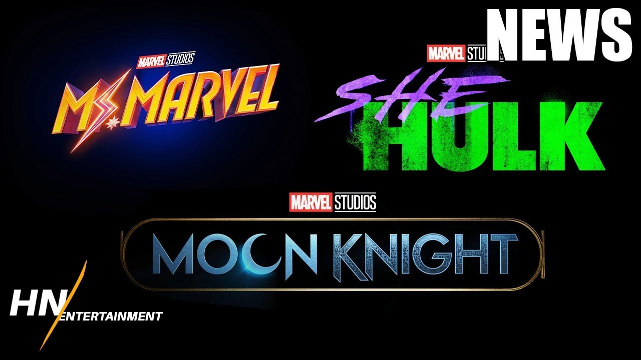 Marvel Unveils 3 New Disney+ Shows Including 'She-Hulk' and 'Moon Knight'