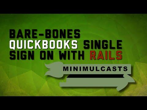 Bare-bones QuickBooks Single Sign On with Rails