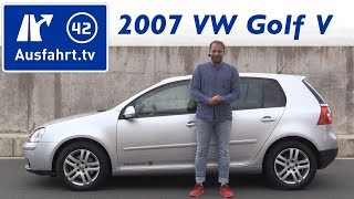2007 Volkswagen VW Golf V 1,4 Liter TSI - Kaufberatung, Test, Review, Historie