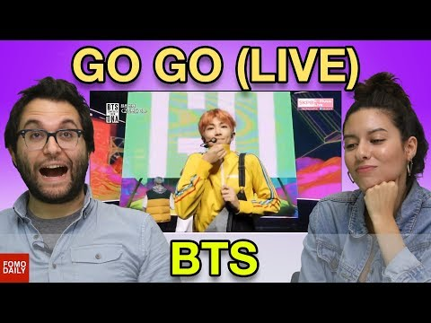 """BTS """"Go Go [Comeback Stage]"""" • Fomo Daily Reacts"""