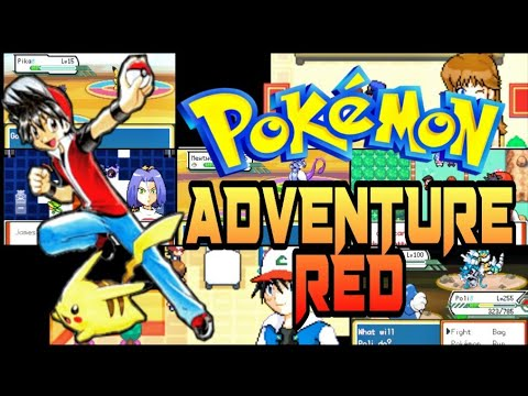 NEW! Pokemon Adventures Red Chapter Beta 15.4 GBA ROM HACK