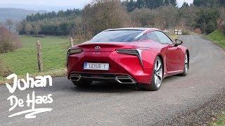 2018 Lexus LC 500h 359 hp walkaround exterior shots
