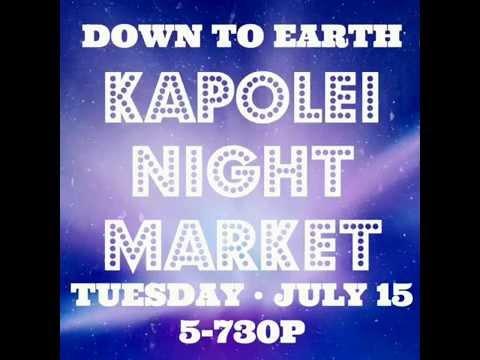 Kapolei Night Market - Sale Items - July 15th