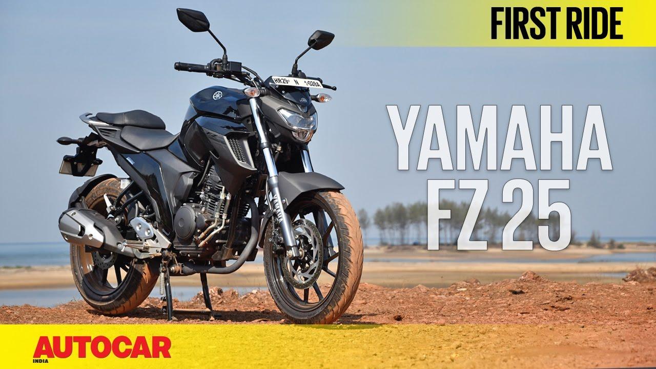 2fbe1b3fccf9 Yamaha FZ 25 | First Ride | Autocar India - YouTube