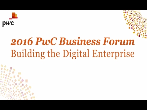 [2016 PwC Business Forum] Digital Wealth Management Strategy