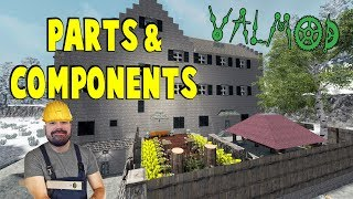 Parts & Components | 7 Days To Die Valmod | S7 E24