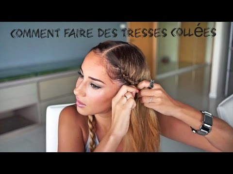 comment faire des tresses coll es bloopers youtube. Black Bedroom Furniture Sets. Home Design Ideas