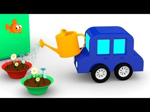 Cartoon FLOWER GARDEN! - Cartoon Cars Playground - Car Cartoons for Kids. Kid