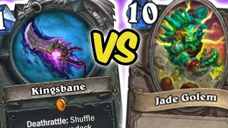 KINGSBANE VS JADE GOLEMS | KINGSBANE ROGUE | HEARTHSTONE | DISGUISED TOAST