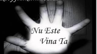 Kavy-Nu este vina ta(feat.Corina Huza) (HD)